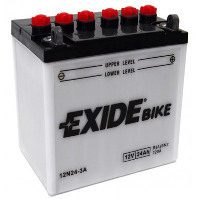 Мото аккумулятор Exide 6СТ-24 12N24-3A