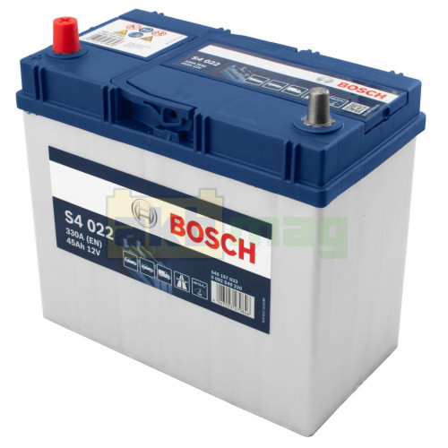 Автомобильный аккумулятор Bosch 6СТ-45 S4 022 0092S40220