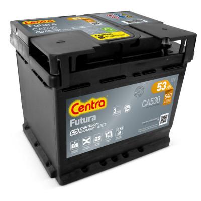 Автомобильный аккумулятор Centra 6СТ-53 Futura CA530