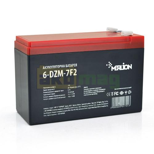 Тяговый аккумулятор MERLION 6-DZM-7