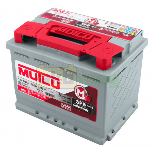 Автомобильный аккумулятор Mutlu 6СТ-60 SFB Series 3 540A