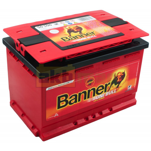 Автомобильный аккумулятор Banner 6СТ-80 Uni Bull 50500