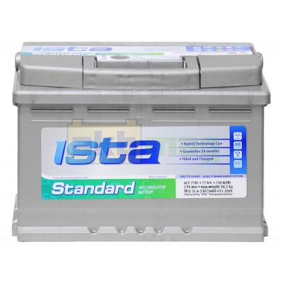 Автомобильный аккумулятор Ista 6СТ-77 Standard L
