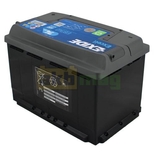 Автомобильный аккумулятор Exide 6СТ-74 Excell EB740