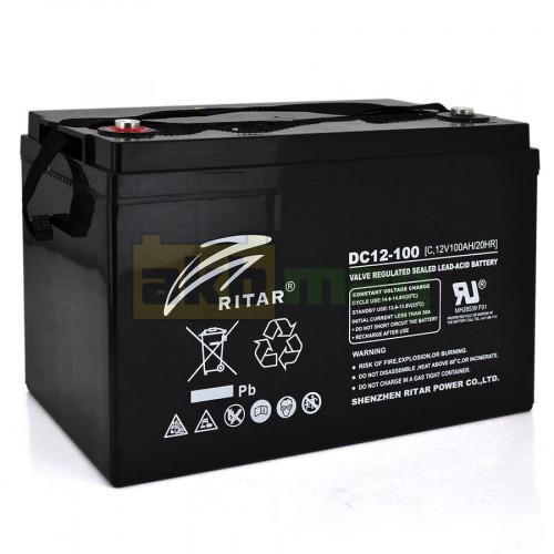 Аккумулятор Ritar DC12-100C Carbon
