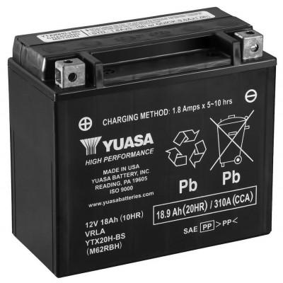 Мото аккумулятор Yuasa 6СТ-18,9 YTX20H-BS
