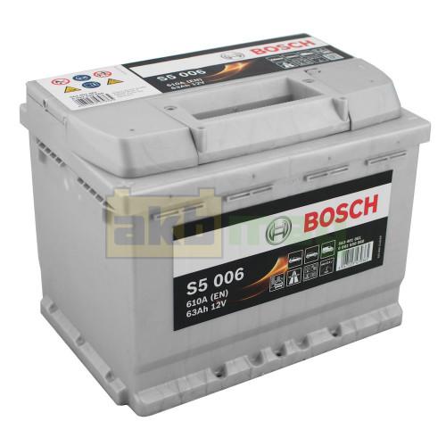 Автомобильный аккумулятор Bosch 6СТ-63 S5 006 0092S50060