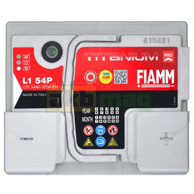 Автомобильный аккумулятор Fiamm 6СТ-54 Titanium Pro