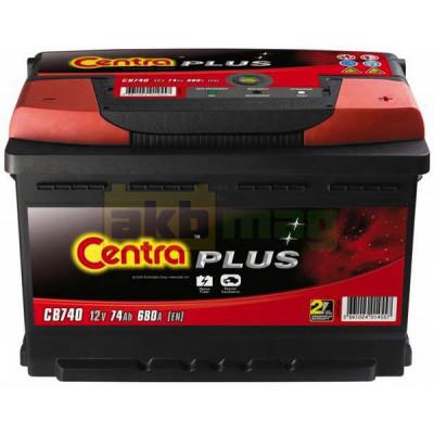 Автомобильный аккумулятор Centra 6СТ-74 Plus CB740
