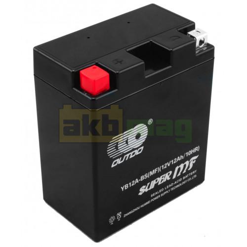Мото аккумулятор Outdo 6СТ-12 YB12A-BS