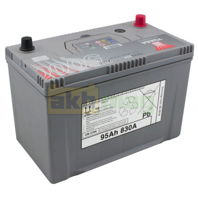 Автомобильный аккумулятор Yuasa 6СТ-100 SHP YBX5334