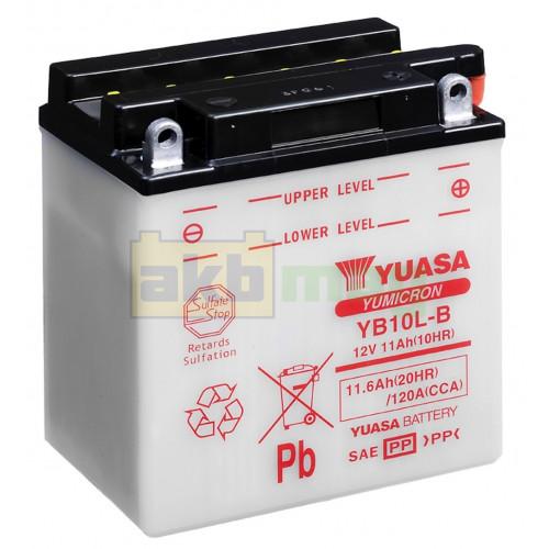 Мото аккумулятор Yuasa 6СТ-11,6 YuMicron YB10L-B