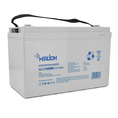 Аккумулятор Merlion GL121000M8