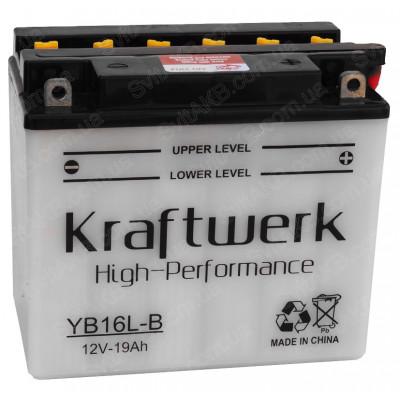 Мото аккумулятор Kraftwerk 6СТ-19 YB16L-B