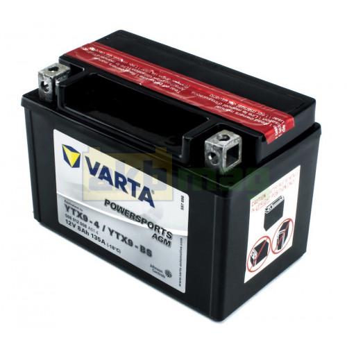 Мото аккумулятор Varta 6СТ-8 PowerSports AGM YTX9-BS