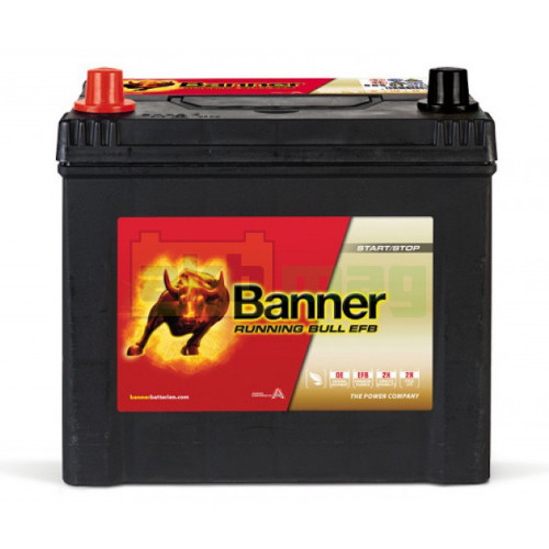 Автомобильный аккумулятор Banner 6СТ-65 Running Bull EFB 56501