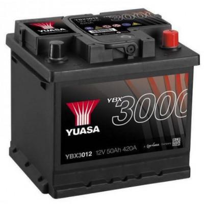 Автомобильный аккумулятор Yuasa 6СТ-50 SMF YBX3012