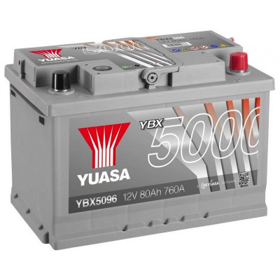 Автомобильный аккумулятор Yuasa 6СТ-80 SHP YBX5096