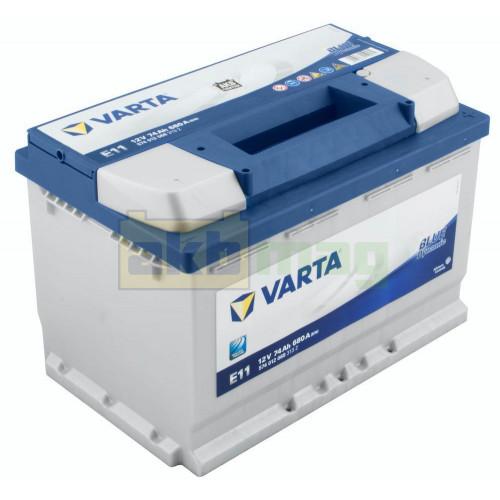 Автомобильный аккумулятор Varta 6СТ-74 E11 Blue Dynamic