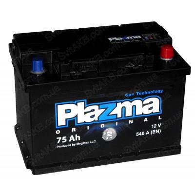Автомобильный аккумулятор Plazma 6СТ-75 Original