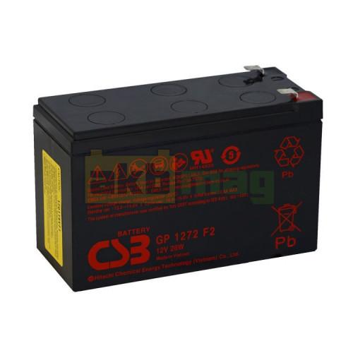 Аккумулятор CSB GP1272F2