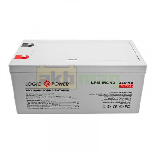 Аккумулятор LogicPower LPM-MG12-250
