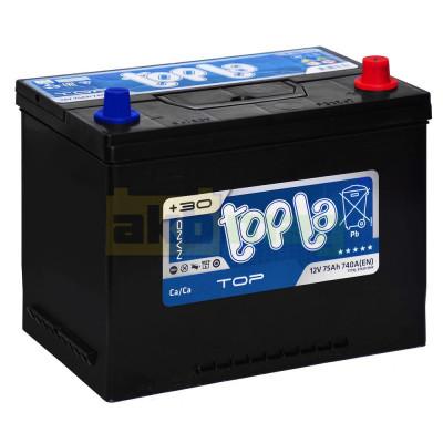 Автомобильный аккумулятор Topla 6СТ-75 TOP Japan L
