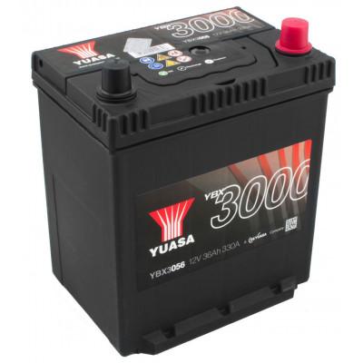 Автомобильный аккумулятор Yuasa 6СТ-36 SMF YBX3056