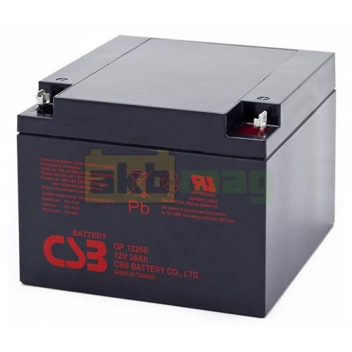 Аккумулятор CSB GP12260