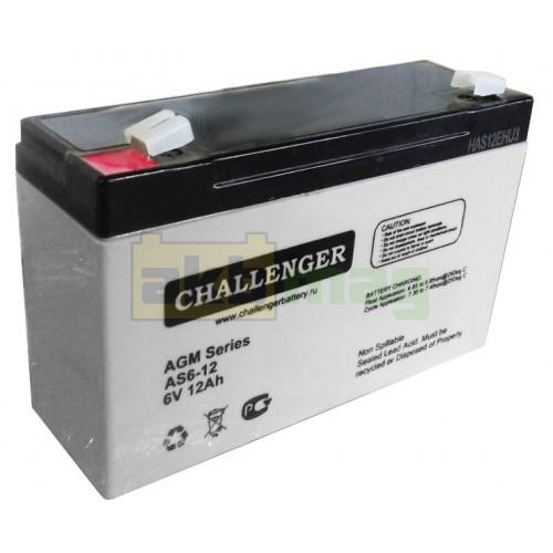 Аккумулятор Challenger AS6-12