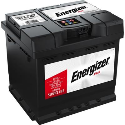 Автомобильный аккумулятор Energizer 6СТ-52 Plus EP52L1
