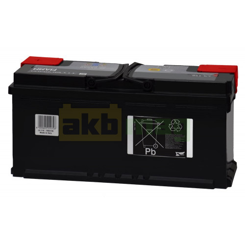 Автомобильный аккумулятор Fiamm 6СТ-110 Titanium Black