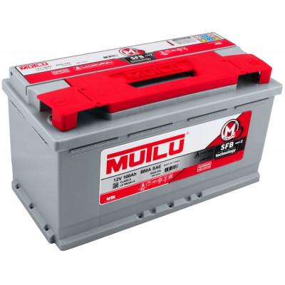 Автомобильный аккумулятор Mutlu 6СТ-100 SFB Series 2 830A