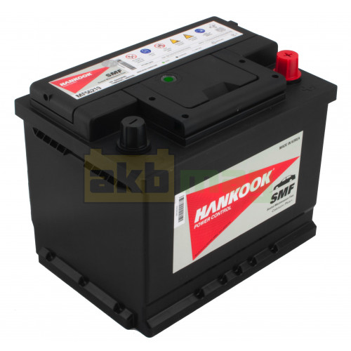 Автомобильный аккумулятор Hankook 6СТ-62 SMF 56219