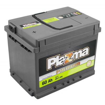 Автомобильный аккумулятор Plazma 6СТ-60 Premium