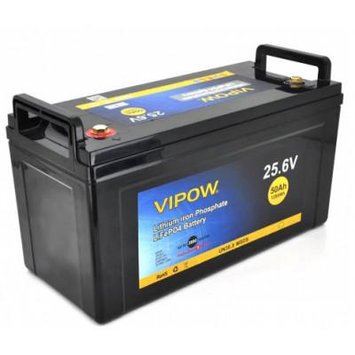 Аккумулятор Vipow LiFePO4 24V 50AH (BMS 40)