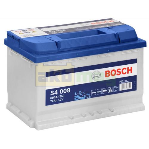 Автомобильный аккумулятор Bosch 6СТ-74 S4 008 0092S40080