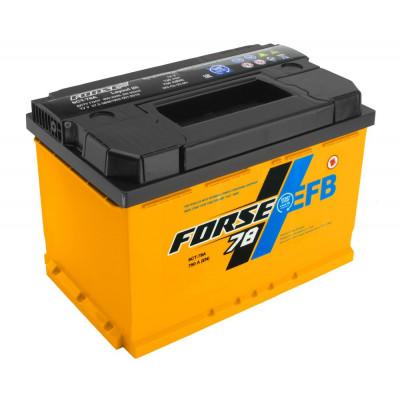 Автомобильный аккумулятор Forse 6СТ-78 EFB