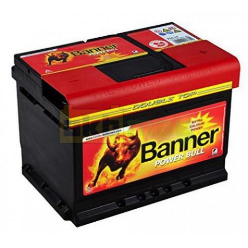 Автомобильный аккумулятор Banner 6СТ-60 Power Bull P6009