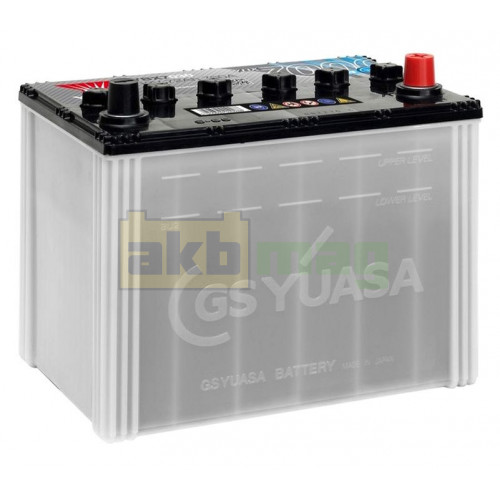 Автомобильный аккумулятор Yuasa 6СТ-72 EFB YBX7030