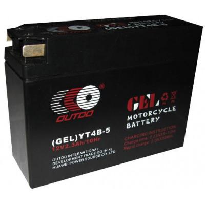 Мото аккумулятор Outdo 6СТ-2,3 YT4B-5