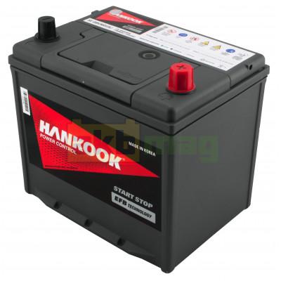 Автомобильный аккумулятор Hankook 6СТ-65 EFB Start-Stop SE Q85