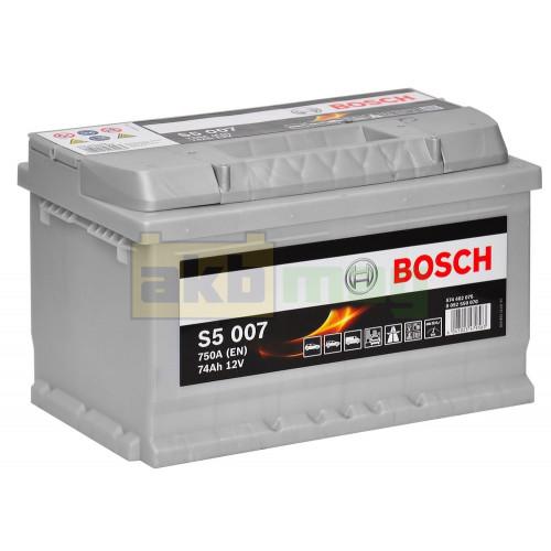Автомобильный аккумулятор Bosch 6СТ-74 S5 007 0092S50070