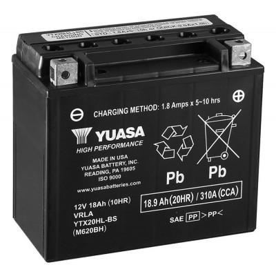 Мото аккумулятор Yuasa 6СТ-18,9 YTX20HL-BS