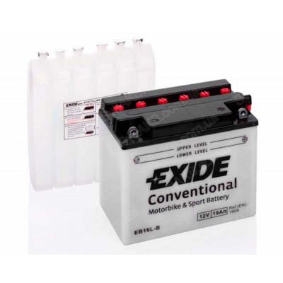 Мото аккумулятор Exide 6СТ-19 EB16L-B