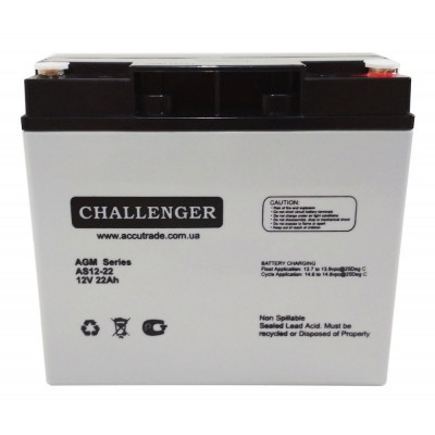 Аккумулятор Challenger AS12-22
