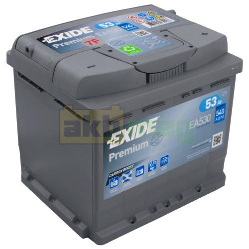 Автомобильный аккумулятор Exide 6СТ-53 Premium EA530