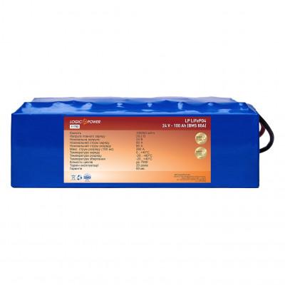 Аккумулятор LogicPower LiFePO4 24V 100AH (BMS 80)
