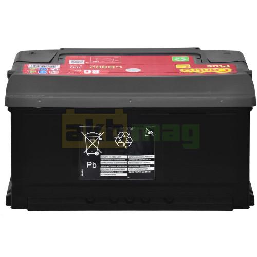 Автомобильный аккумулятор Centra 6СТ-80 Plus CB802