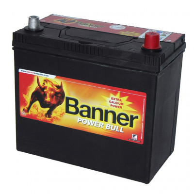 Автомобильный аккумулятор Banner 6СТ-45 Power Bull P4523